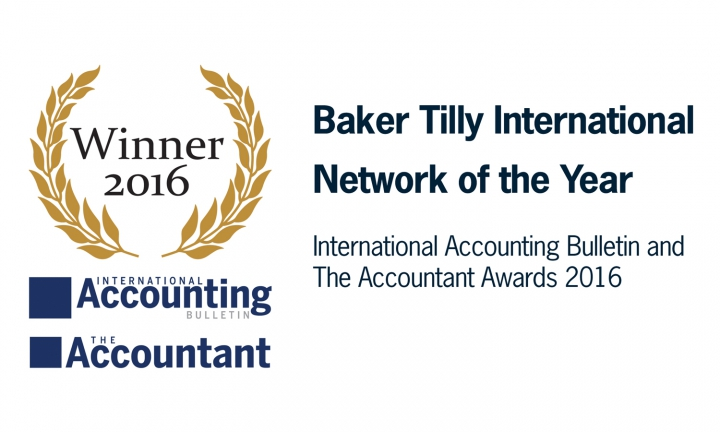 Baker Tilly International Network of the year award 2016
