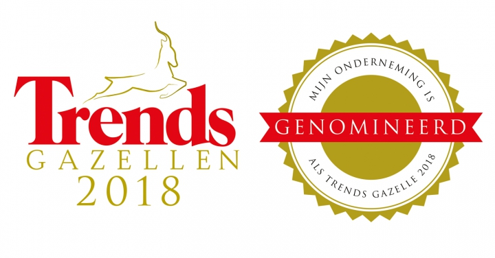 Baker Tilly genomineerd als Trends Gazelle 2018